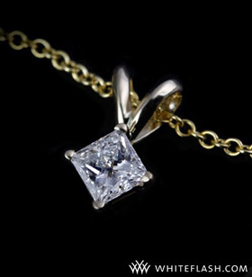 0-25ctw-4-prong-solitaire-princess-diamond-pendant