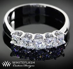 0.50ct Custom Skye Setting with Cushion Cuts Glam, wonderful diamond ring