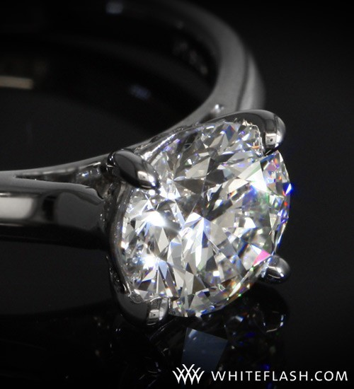 solitaire engagement ring by vatche