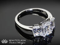 1.57ct 3 Stone Diamond Ring