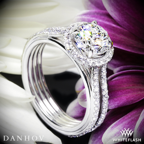 Danhov UE103 Unito Diamond Engagement Ring