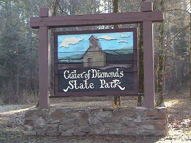 Diamonds State Park, Arkansas