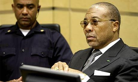Former Liberia President