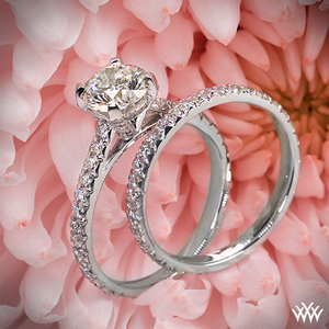 Elena Diamond Wedding Set