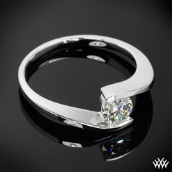 """Lilly"" Solitaire Engagement Ring"