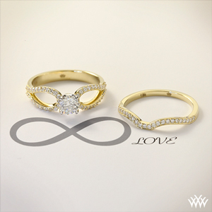 rings engagement style infinite knot infinity hidden pinterest square gorgeous diamond bands band my the symbol instead but love pin ring
