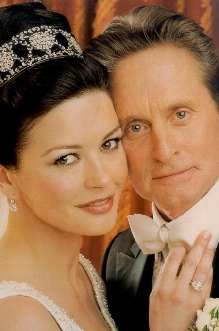 Catherine Zeta-Jone and Michael Douglas