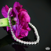 """Three-Prong"" Tennis Bracelet"
