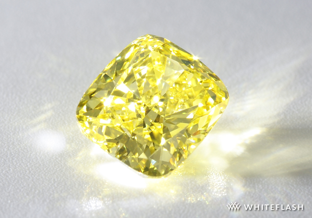 3 carat fancy yellow diamond