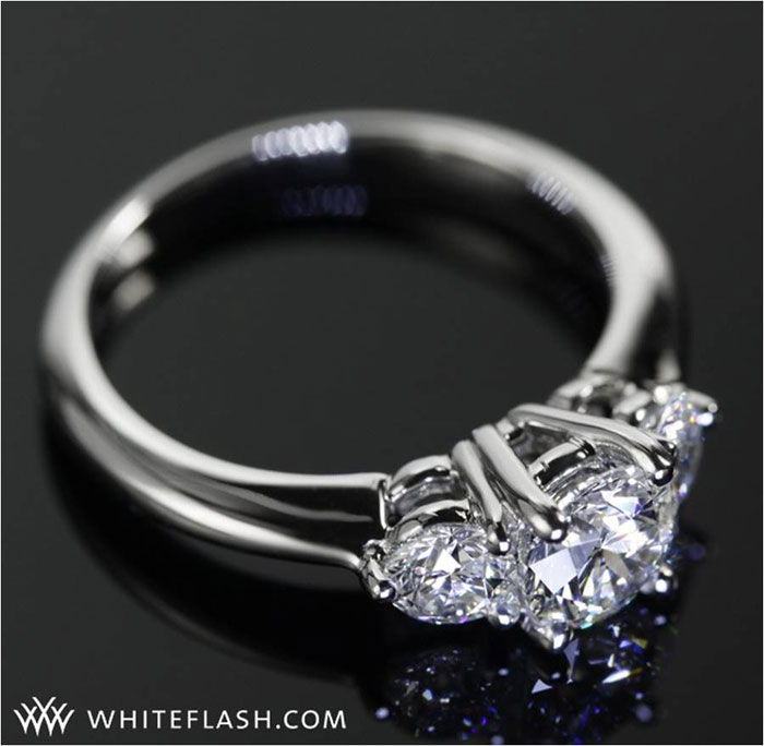 3-Stone Diamond Engagement Ring