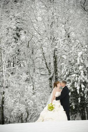 Diamonds  Winter Weddings