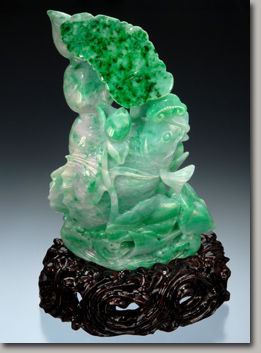 rich green jadeite