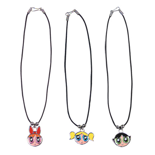 Powerpuff Girls necklaces