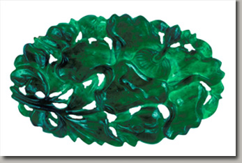 brilliant green gemstone