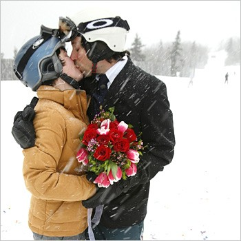 Wedding Channel Winter Proposal