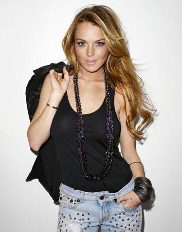 Lindsay Lohan style - diamond bangles