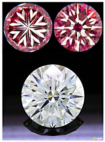 Hearts and Arrows Diamonds