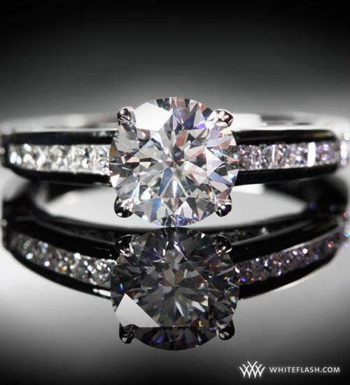 platinum wedding ring, diamond wedding ring