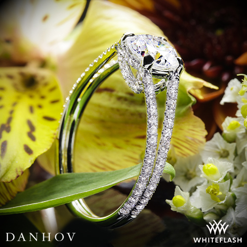 Danhov LE116 Diamond Engagement Ring