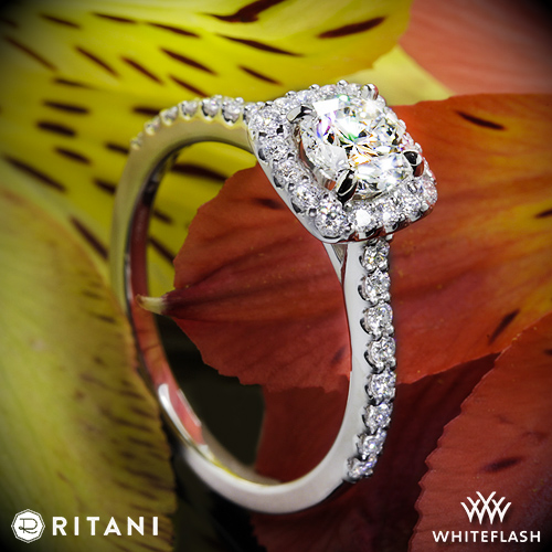 Ritani 1R1321 Diamond Engagement Ring