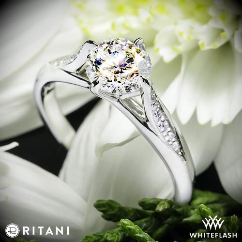 Ritani 1R1379 Diamond Engagement Ring