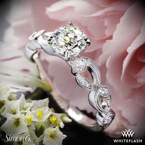 Simon G TR473 Engagement Ring