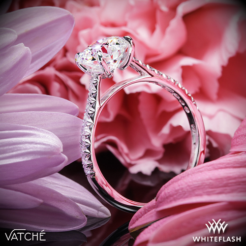 Vatche 1544 Diamond Engagement Ring
