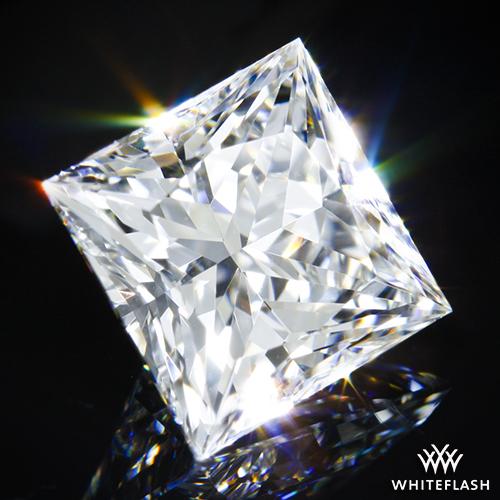 AGS 000 Princess Cut Diamond