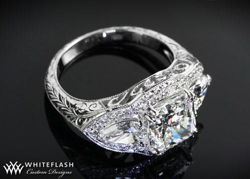 Antique Diamond Engageme