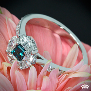 fancy colored diamond engagment ring
