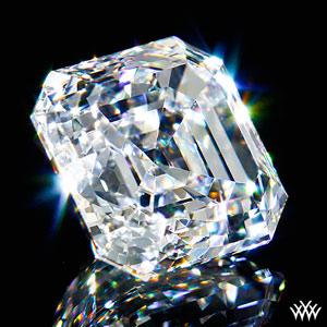Asscher Cut Diamond Light