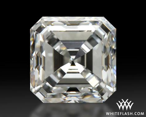 ring gold asscher i tradesy diamond royal platimun cut white