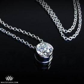 bezel-round-diamond-pendant