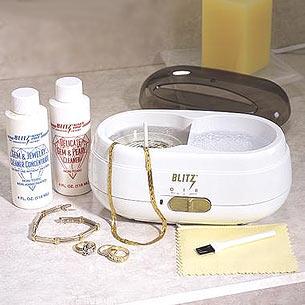 blitz vibra sonic home jewelry cleaning machine