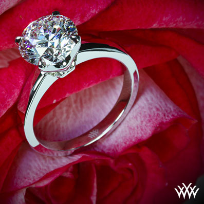 Broadway Solitaire Engagement Ring
