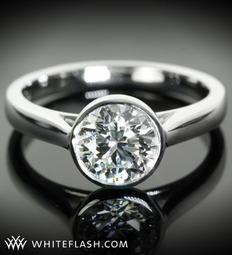 National Jeweler notes Whiteflash's reasonably priced Platinum Engagement Rin