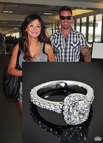 Jwoww Wedding Ring Photography