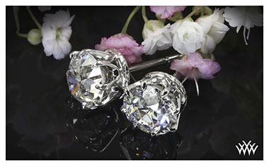 8 Prong Diamond Earrings Whiteflash 2013 Calendar