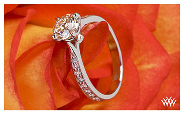 Legato Diamond Engagement Ring Whiteflash  2013 Calendar