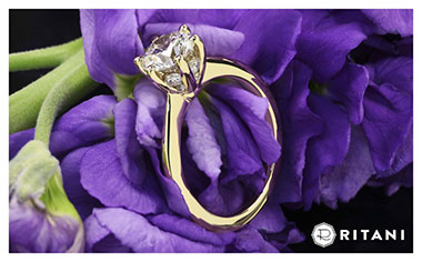 The Ritani Setting Engagement Ring Whiteflash 2013 Calendar