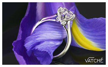Vatche Swan Engagement Ring Whiteflash 2013 Calendar