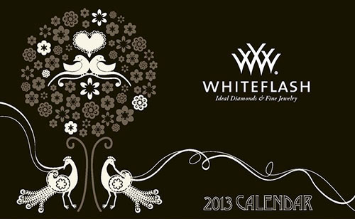 2013 Jewelry Calendar Whiteflash