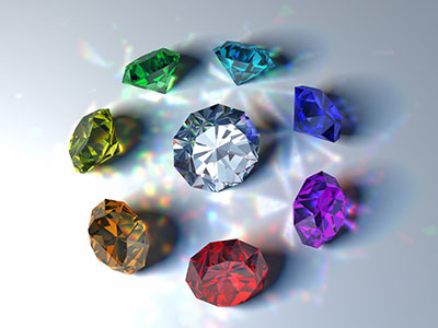 Most diamonds are colorless
