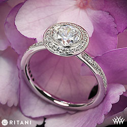 Ritani Endless Love Diamond Ring
