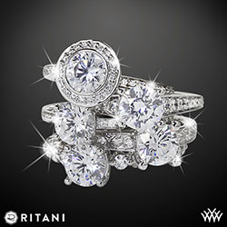 Ritani Endless Love Diamond Engagement Rings