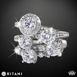 Ritani Endless Love Diamond Engagement Rings