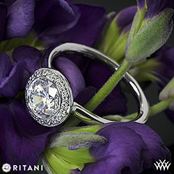 Ritani Endless Love Solitaire Ring