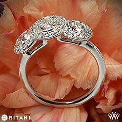Ritani Endless Love 3 Stone Ring