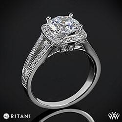 Ritani Masterwork Diamond Ring width=