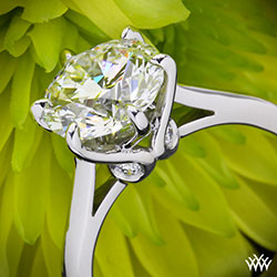 Vatche Swan Engagement Ring